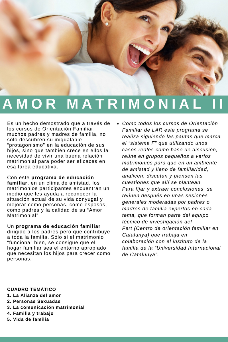 Amor matrimonial 2